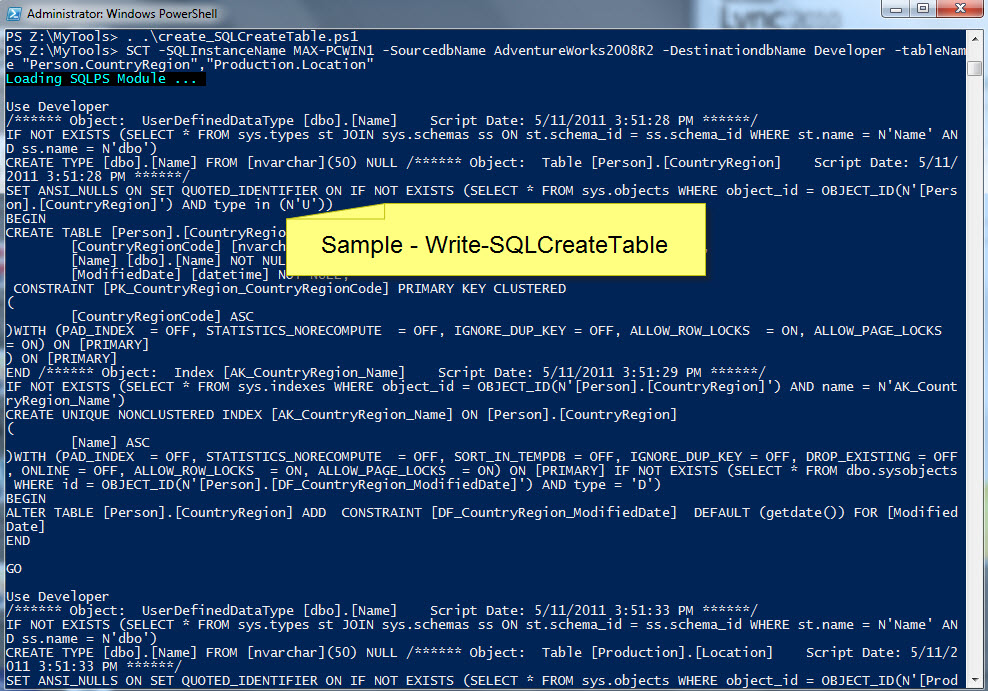 Two new PowerShell functions for SQL Server – Max Trinidad