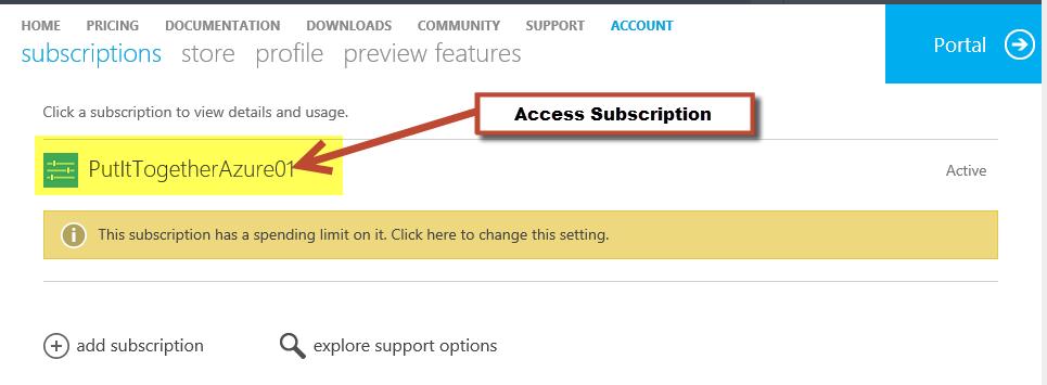 WindowsAzureAccessSubst