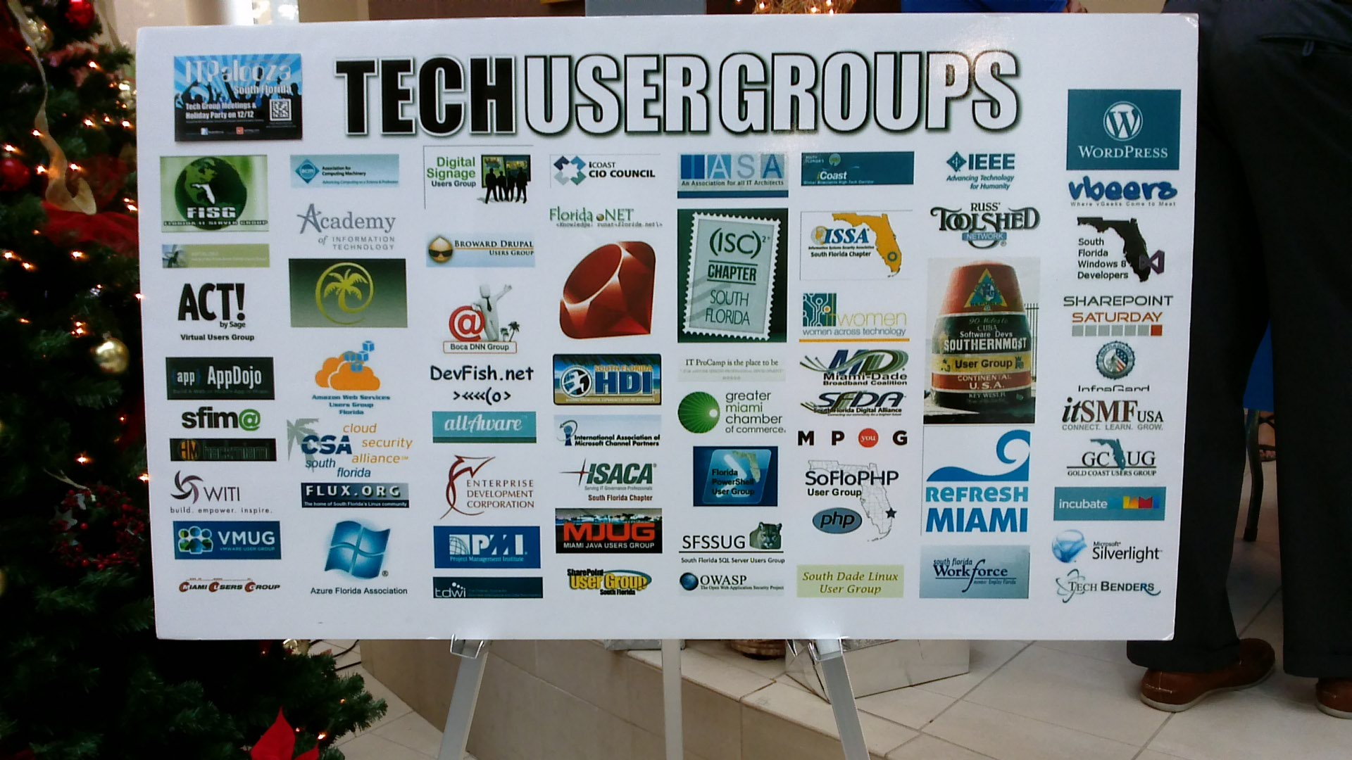 List of community IT User Groups