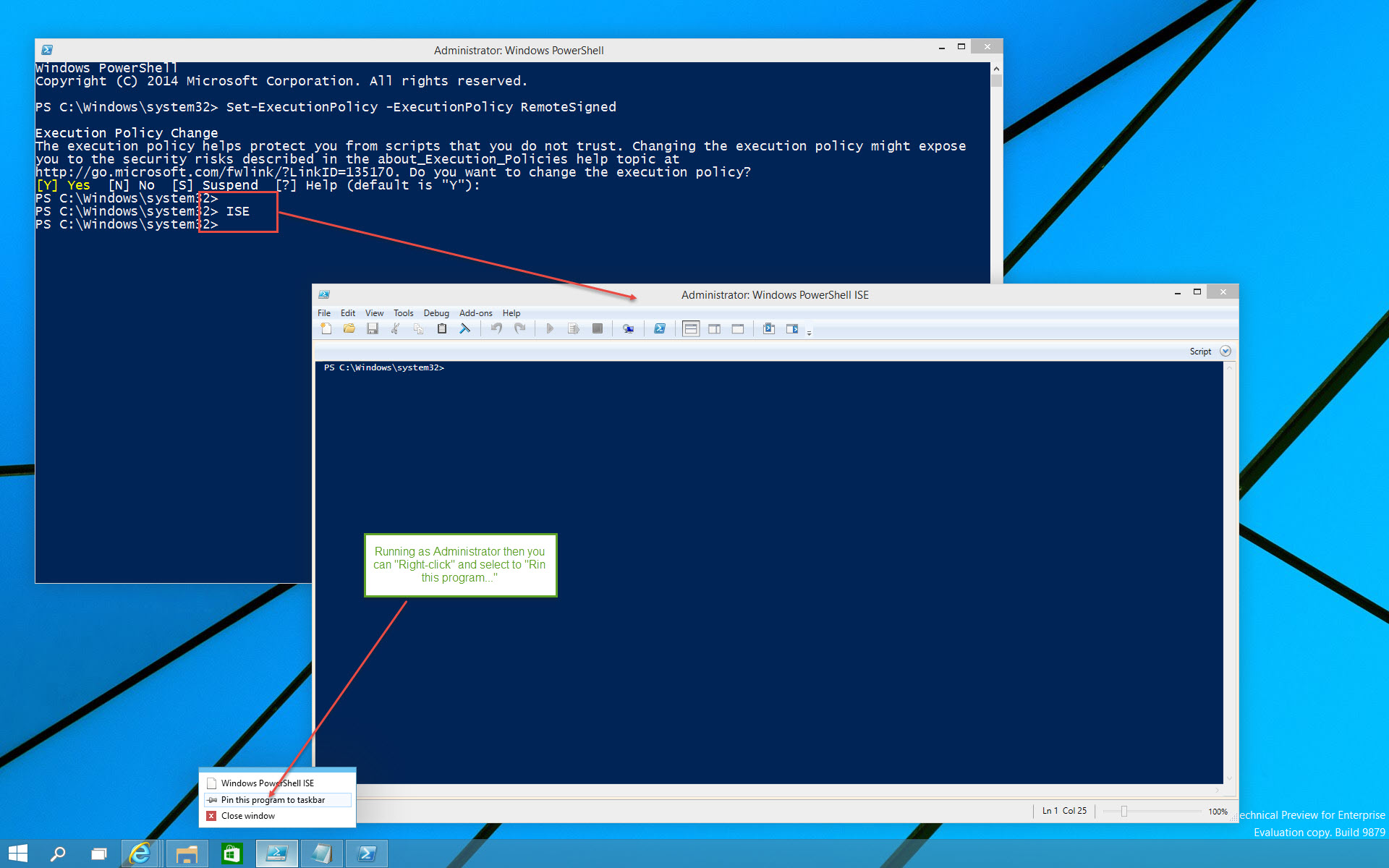 Getting started with Windows 10 PowerShell v5 0 Preview