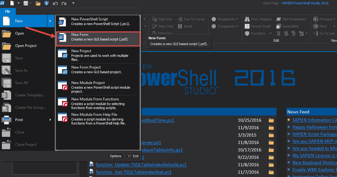 Creating Datagrid GUI in SAPIEN PowerShell Studio – Max Trinidad
