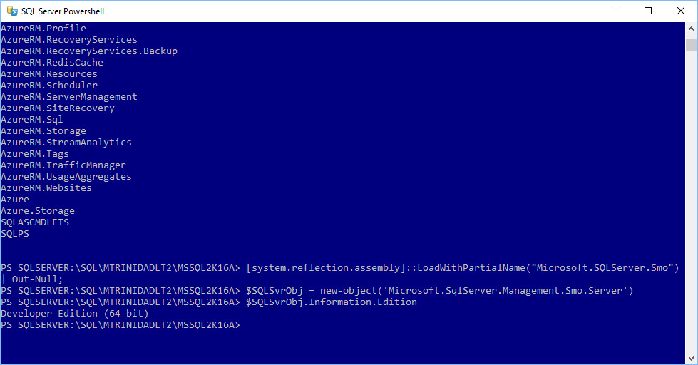 SQL Server – Page 2 – Max Trinidad – The PowerShell Front