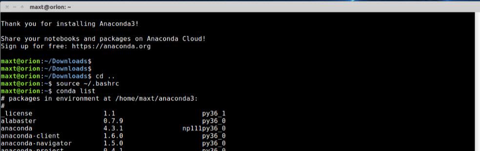 PowerShell, and SQL Server Working with Anaconda – Max Trinidad
