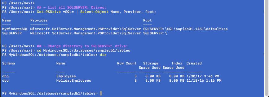 SQL Server – Max Trinidad – The PowerShell Front