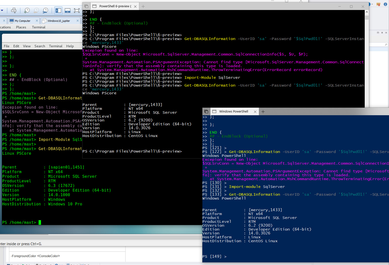 Linux Bash – Max Trinidad – The PowerShell Front