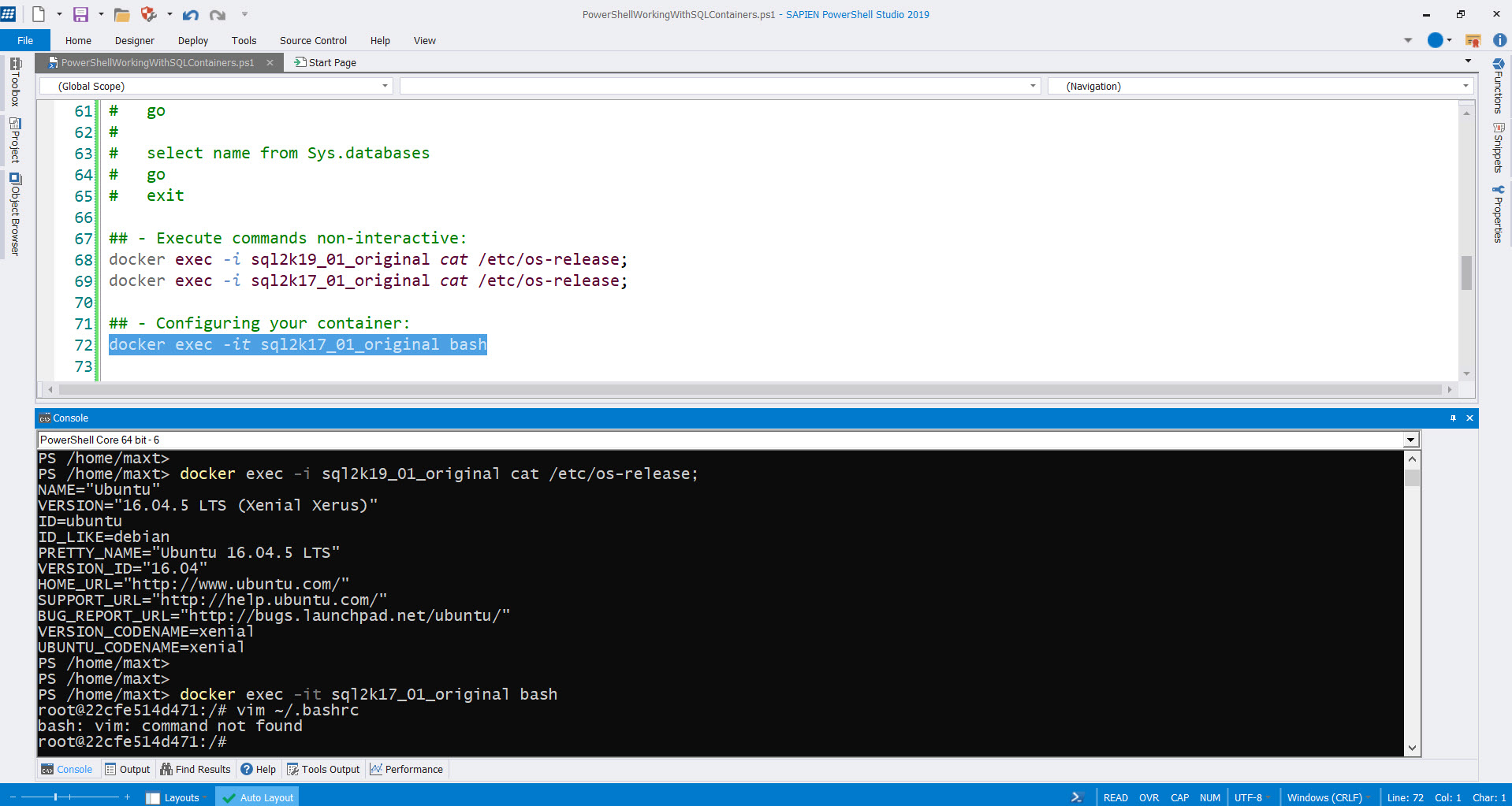 SQL Server – Max Trinidad – The PowerShell Front