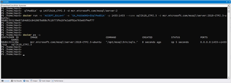 PowerShell Core – Updating your SQL Server Linux Docker